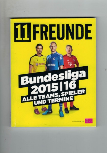11 Freunde - Bundesliga Planer 2015/16