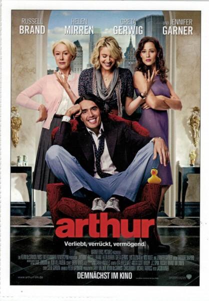"Cinema Filmkarte ""Arthur"""