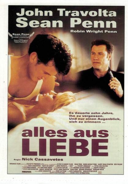 """Cinema Filmkarte """"Alles aus Liebe"""""""