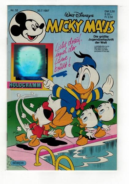 Micky Maus 1987 Nr. 32 / 30.07.1987