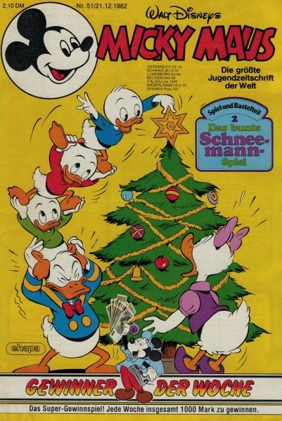 Micky Maus 1982 Nr. 51 / 21.12.1982