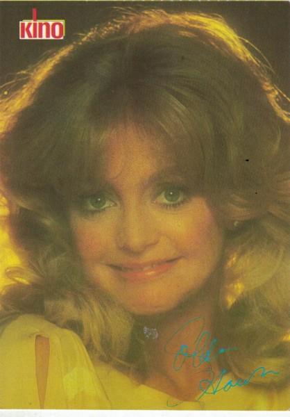 Kino-Autogrammkarte - Goldie Hawn