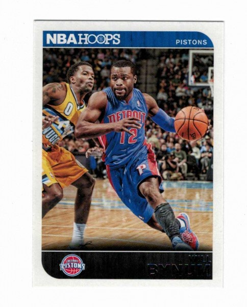 Basketballkarte - WILL BYNUM - Panini - NBA HOOPS