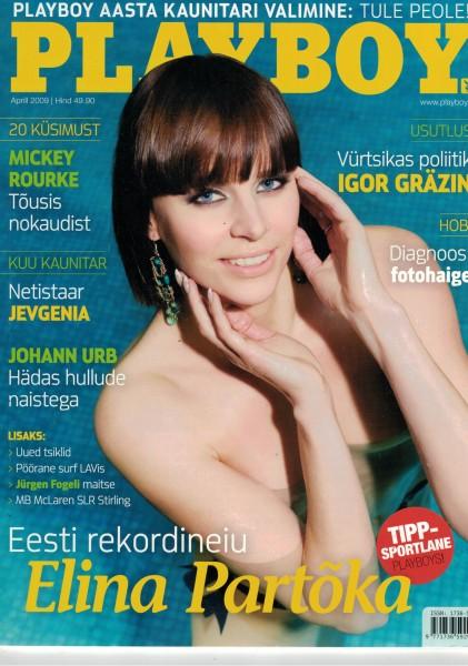 Playboy Estland 2009-04 April