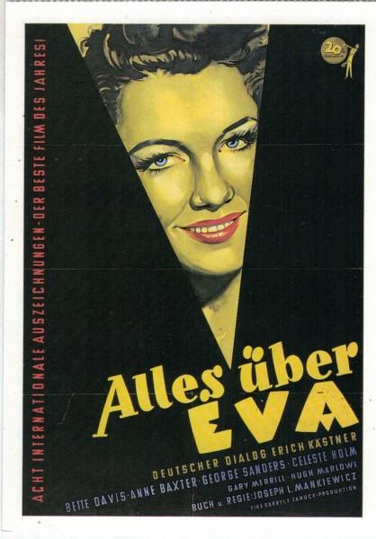 "Cinema Filmkarte ""Alles über Eva"""