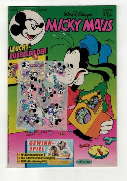 Micky Maus 1989 Nr. 08 / 15.02.1989
