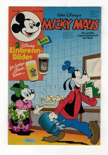 Micky Maus 1985 Nr. 33 / 10.08.1985