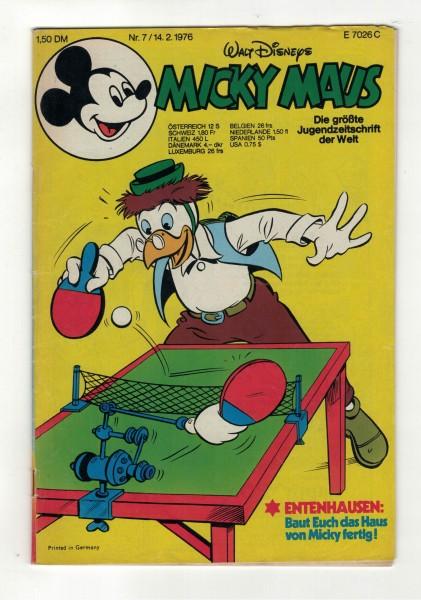 Micky Maus 1976 Nr. 07 / 14.02.1976