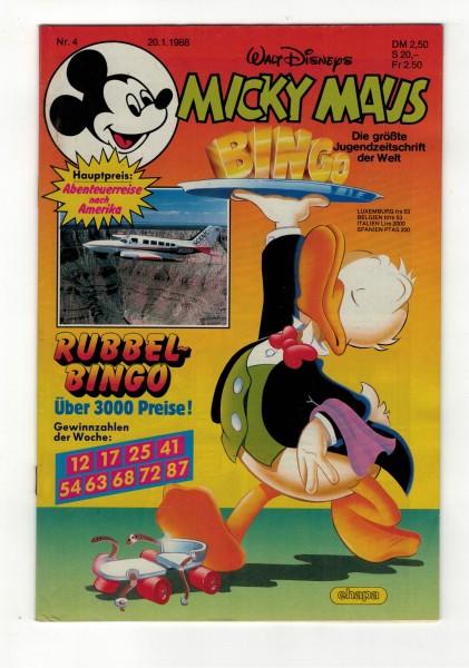 Micky Maus 1988 Nr. 04 / 20.01.1988