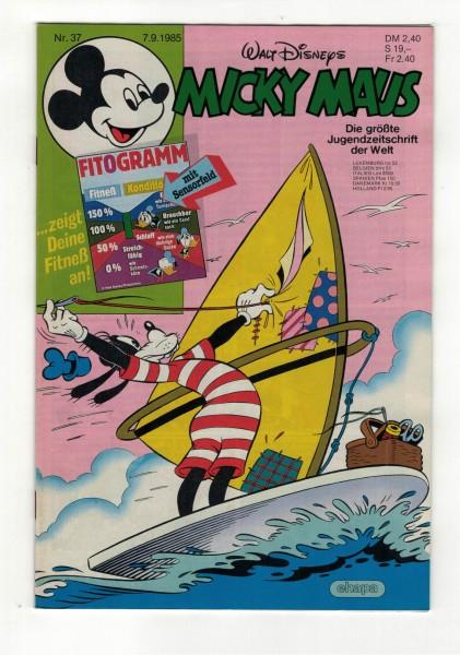 Micky Maus 1985 Nr. 37 / 07.09.1985