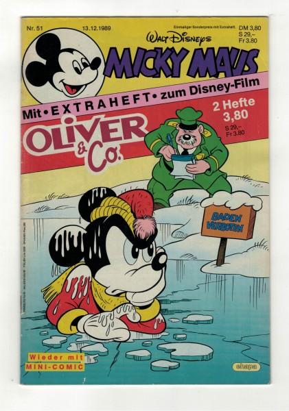 Micky Maus 1989 Nr. 51 / 13.12.1989