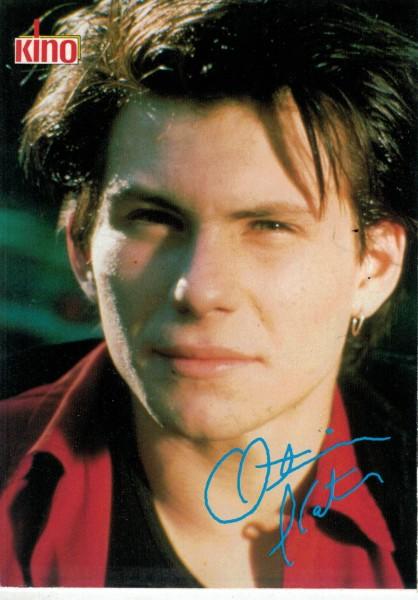 Kino-Autogrammkarte - Christian Slater