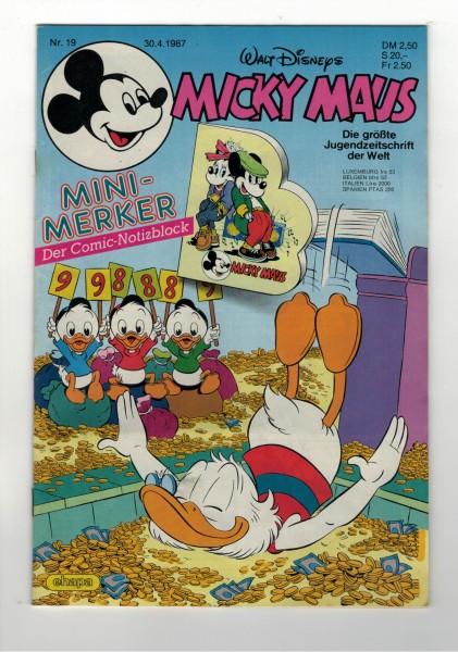 Micky Maus 1987 Nr. 19 / 30.04.1987