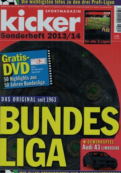 Kicker Sonderheft Bundesliga 2013/14