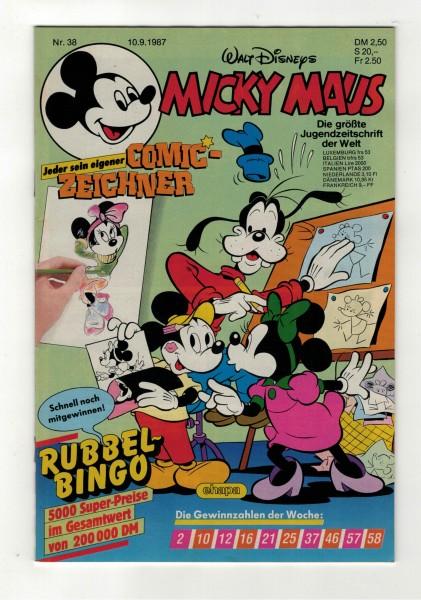 Micky Maus 1987 Nr. 38 / 10.09.1987