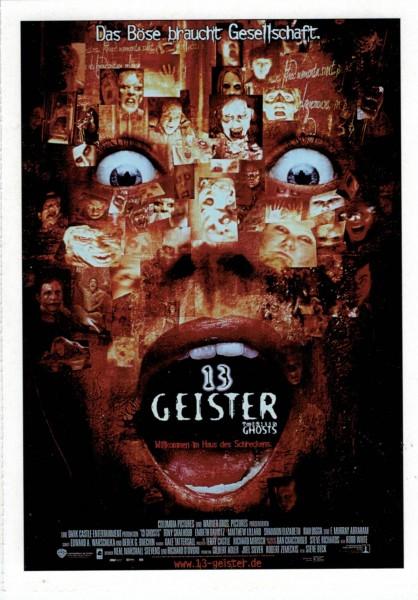 """Cinema Filmkarte """"13 Geister"""""""