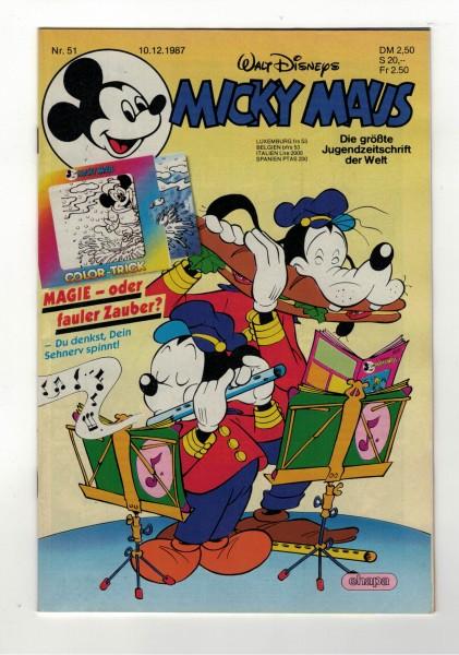 Micky Maus 1987 Nr. 51 / 10.12.1987