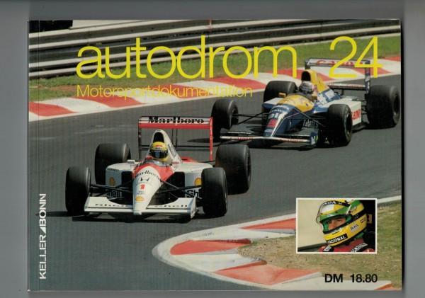 autodrom 24 - Motorsportdokumentation Ausgabe 1992