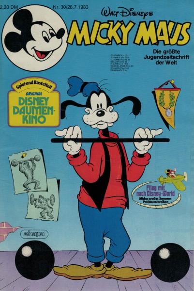 Micky Maus 1983 Nr. 30 / 26.07.1983