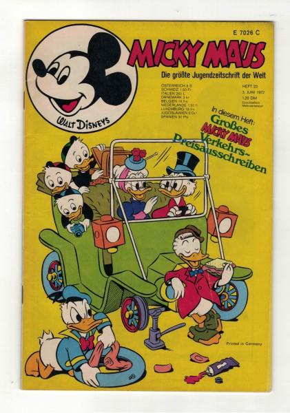 Micky Maus 1972 Nr. 23 / 03.06.1972