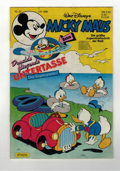 Micky Maus 1986 Nr. 37 / 04.09.1986