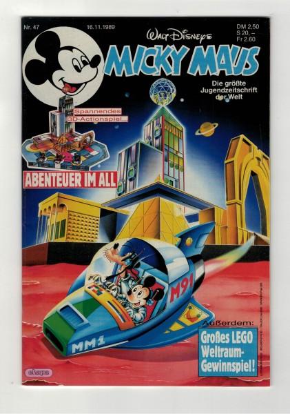 Micky Maus 1989 Nr. 47 / 16.11.1989