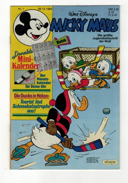 Micky Maus 1985 Nr. 01 / 29.12.1984