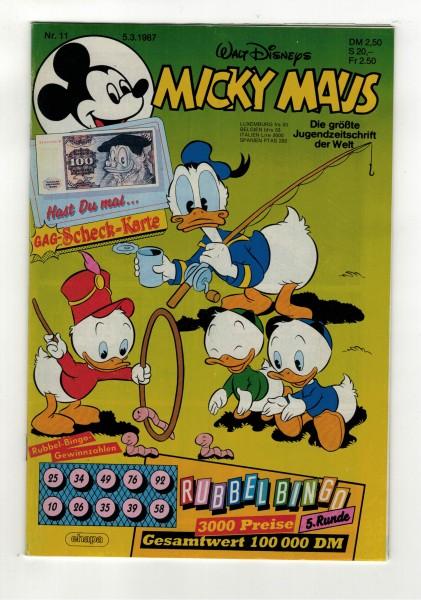 Micky Maus 1987 Nr. 11 / 05.03.1987