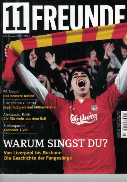 11 Freunde - Heft Nr. 071 - 10 Oktober 2007
