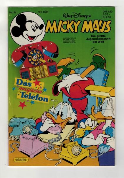 Micky Maus 1988 Nr. 24 / 09.06.1988
