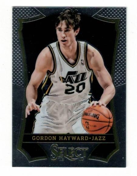 Basketballkarte - GORDON HAYWARD - Panini - Select