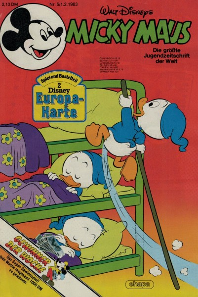 Micky Maus 1983 Nr. 05 / 01.02.1983