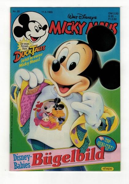 Micky Maus 1989 Nr. 20 / 11.05.1989
