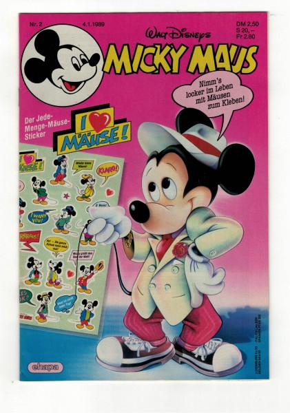 Micky Maus 1989 Nr. 02 / 04.01.1989