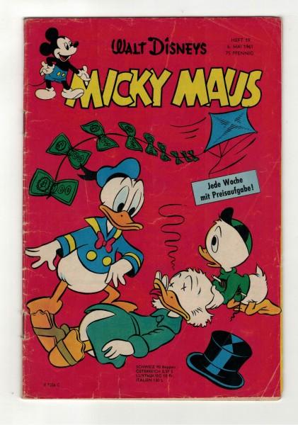 Micky Maus 1961 Nr. 19 / 06.05.1961