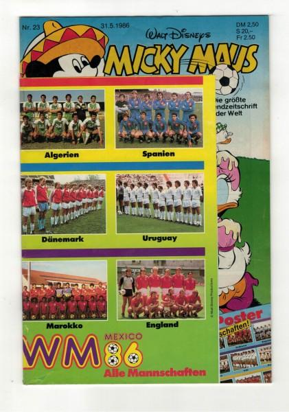 Micky Maus 1986 Nr. 23 / 31.05.1986