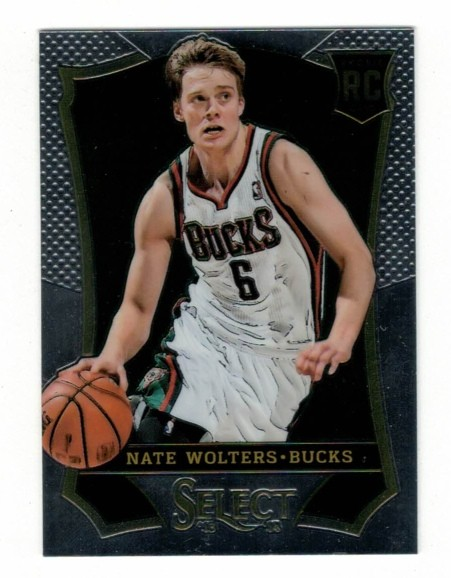 Basketballkarte - NATE WOLTERS - Panini - Select