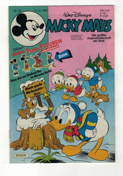 Micky Maus 1985 Nr. 52 / 21.12.1985