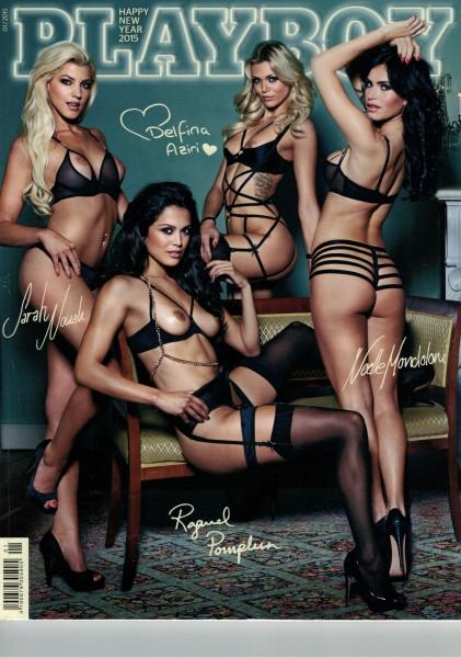 Playboy D 2015-01 Januar ABO-Cover