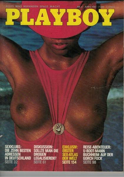 Playboy D 1981-04 April