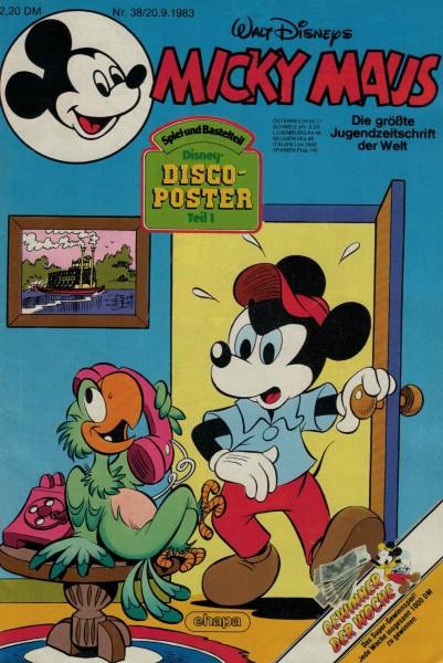 Micky Maus 1983 Nr. 38 / 20.09.1983