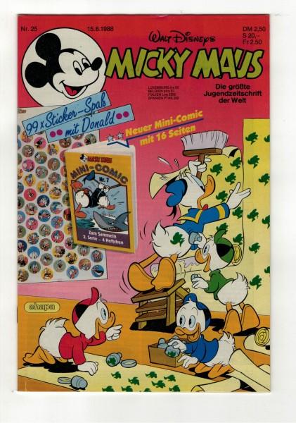 Micky Maus 1988 Nr. 25 / 15.06.1988