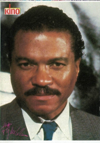 Kino-Autogrammkarte - Billy Dee Williams