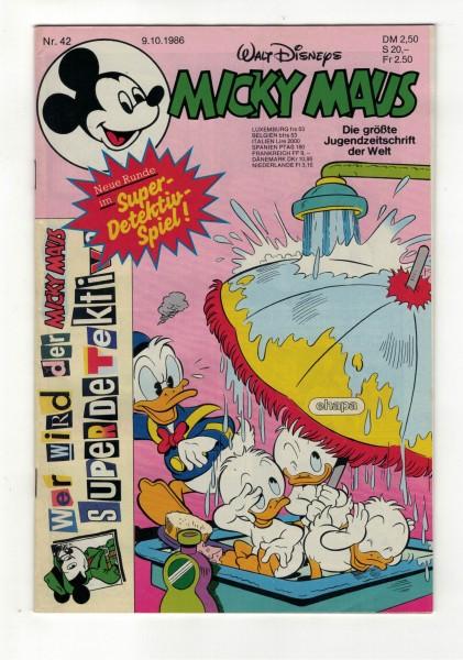 Micky Maus 1986 Nr. 42 / 09.10.1986