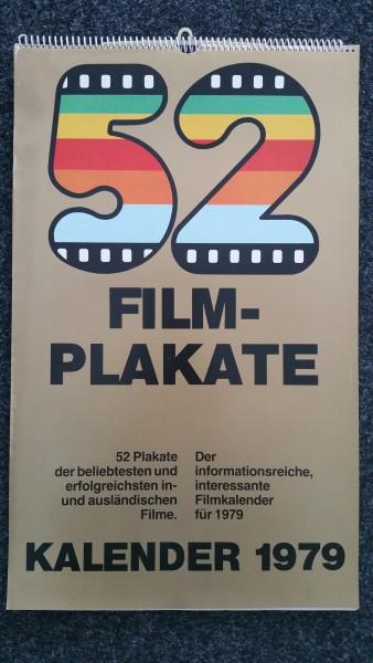 Filmplakate Kalender 1979