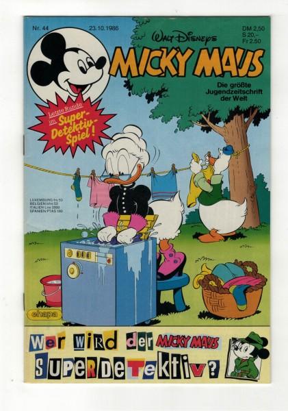 Micky Maus 1986 Nr. 44 / 23.10.1986
