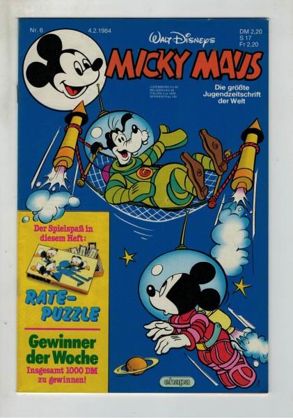 Micky Maus 1984 Nr. 06 / 04.02.1984