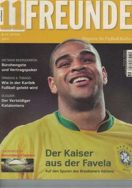 11 Freunde - 2006-07 Juli Heft Nr. 56