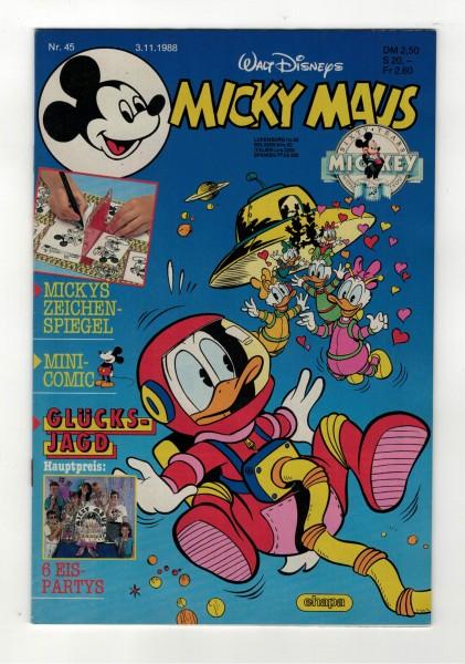 Micky Maus 1988 Nr. 45 / 03.11.1988