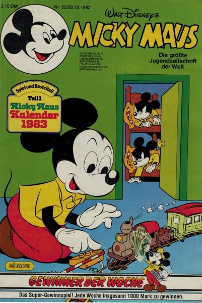 Micky Maus 1982 Nr. 52 / 28.12.1982